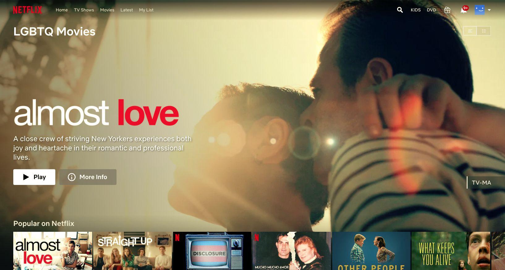 LGBTQ movies unlocked with Netflix hidden codes