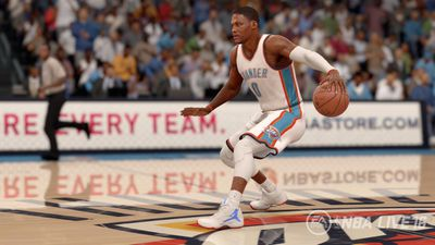 NBA Live 16 screen