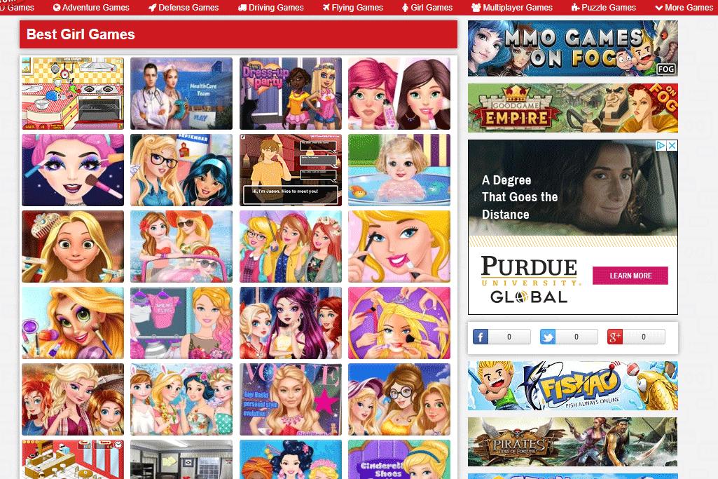 Best girl games at FOG.com