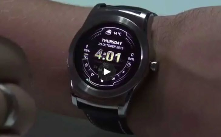 The Neo Watch face for Wear OS by Rich Face.