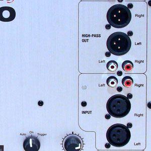 Revel B110 back panel