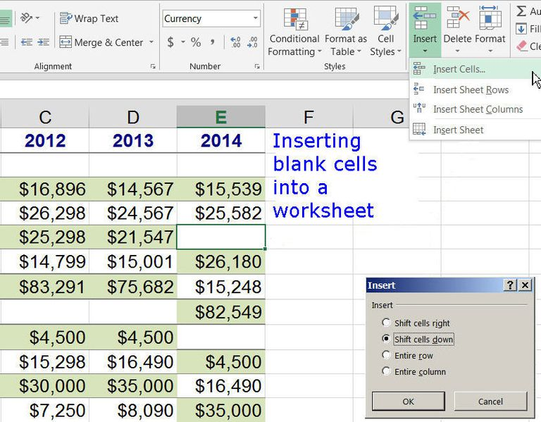 What is Cell? Excel and Google Spreadsheets