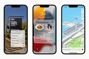 iOS 15 and new features on iPhone
