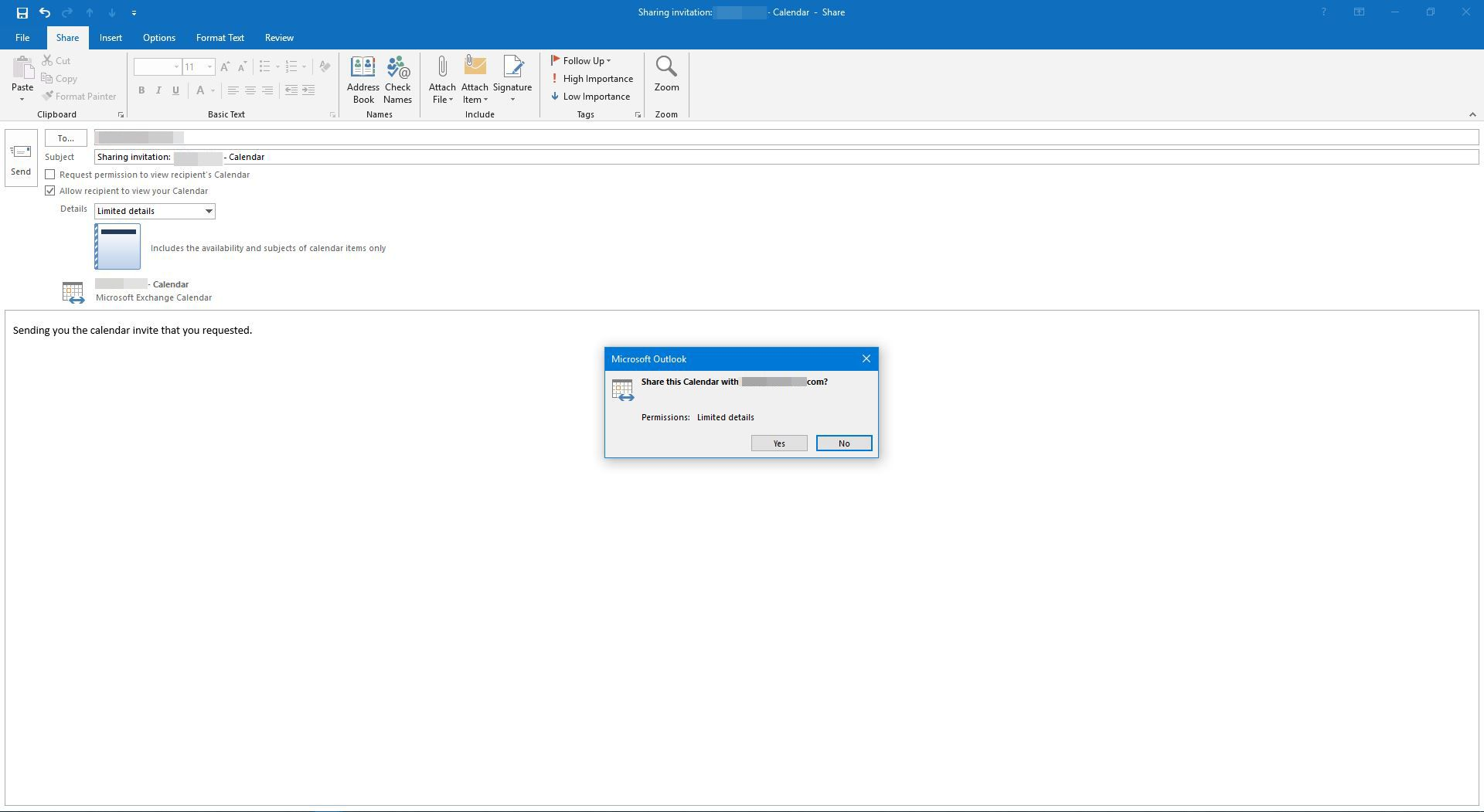 Outlook Calendar Sharing.How To Share Your Outlook Calendar