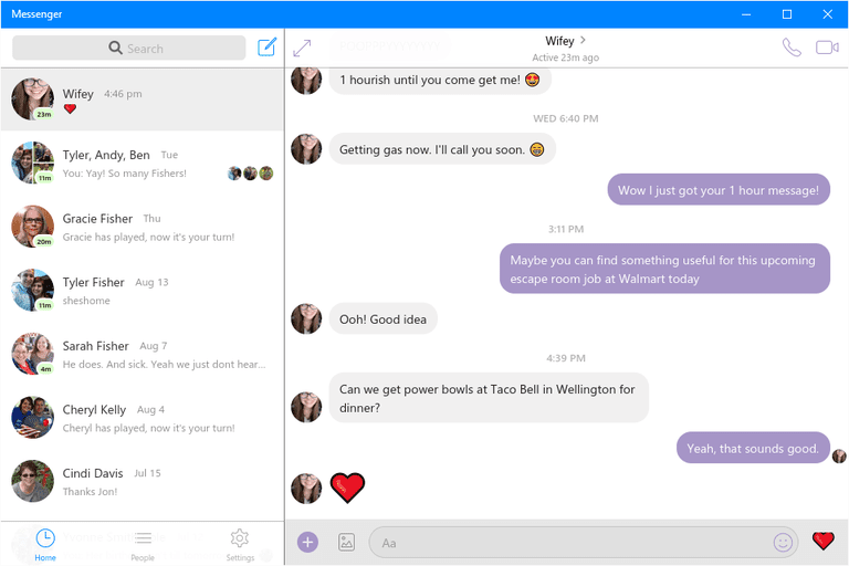 messenger app download lite