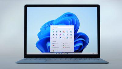 A laptop running Windows 11.