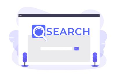 search engine illustration