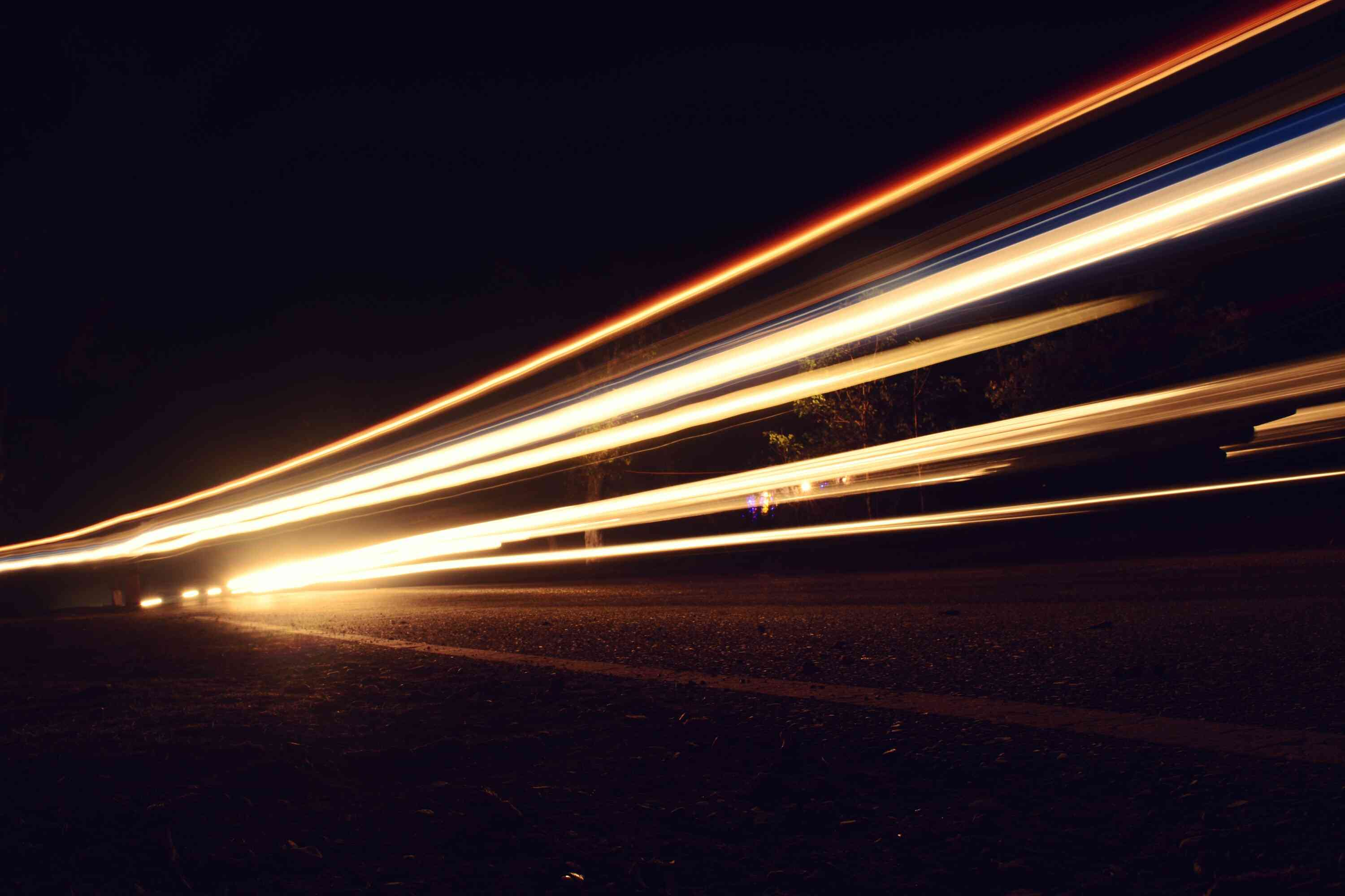 Mobile Photography Light Trails Tutorial