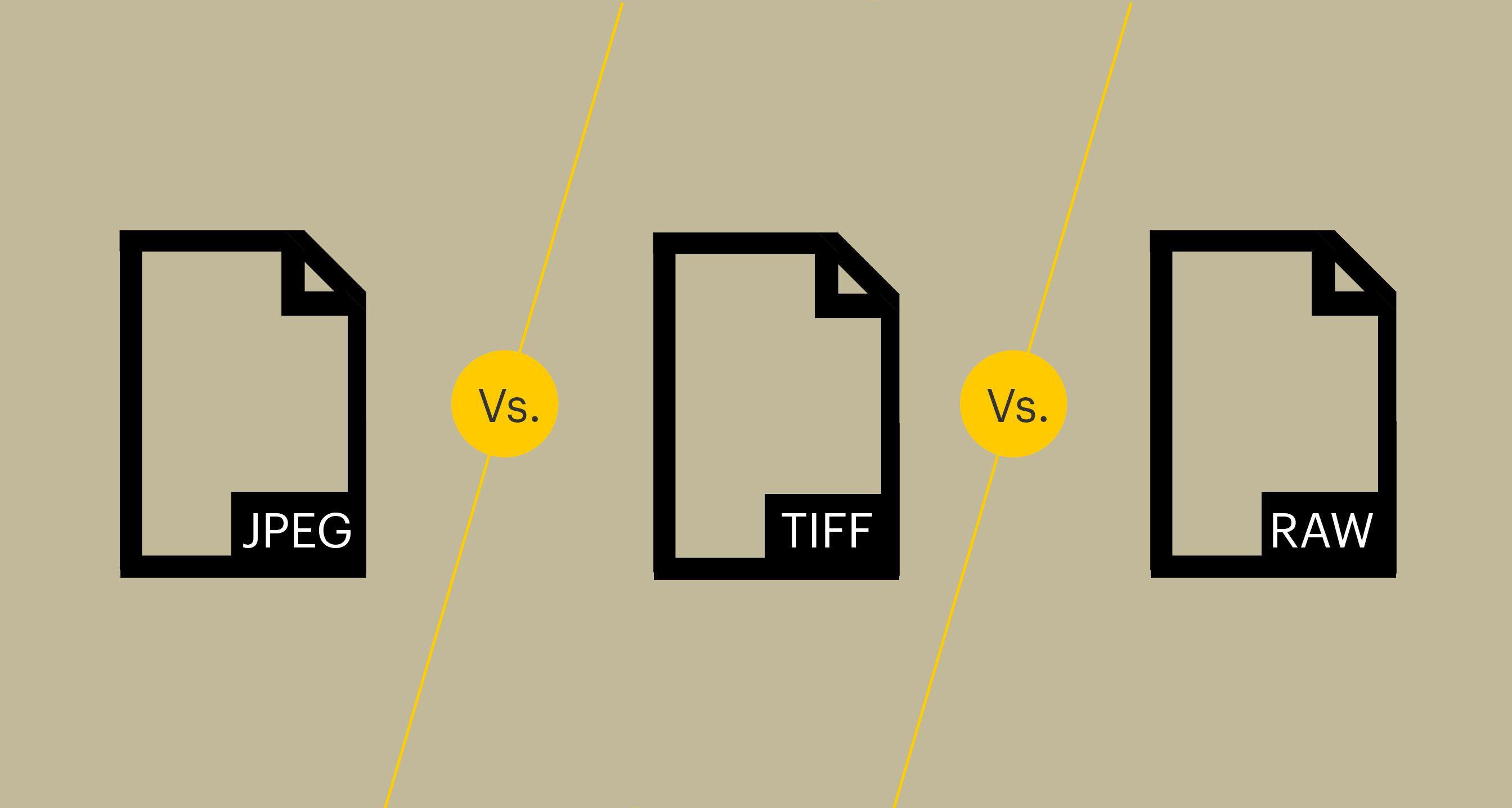 JPEG vs TIFF vs RAW