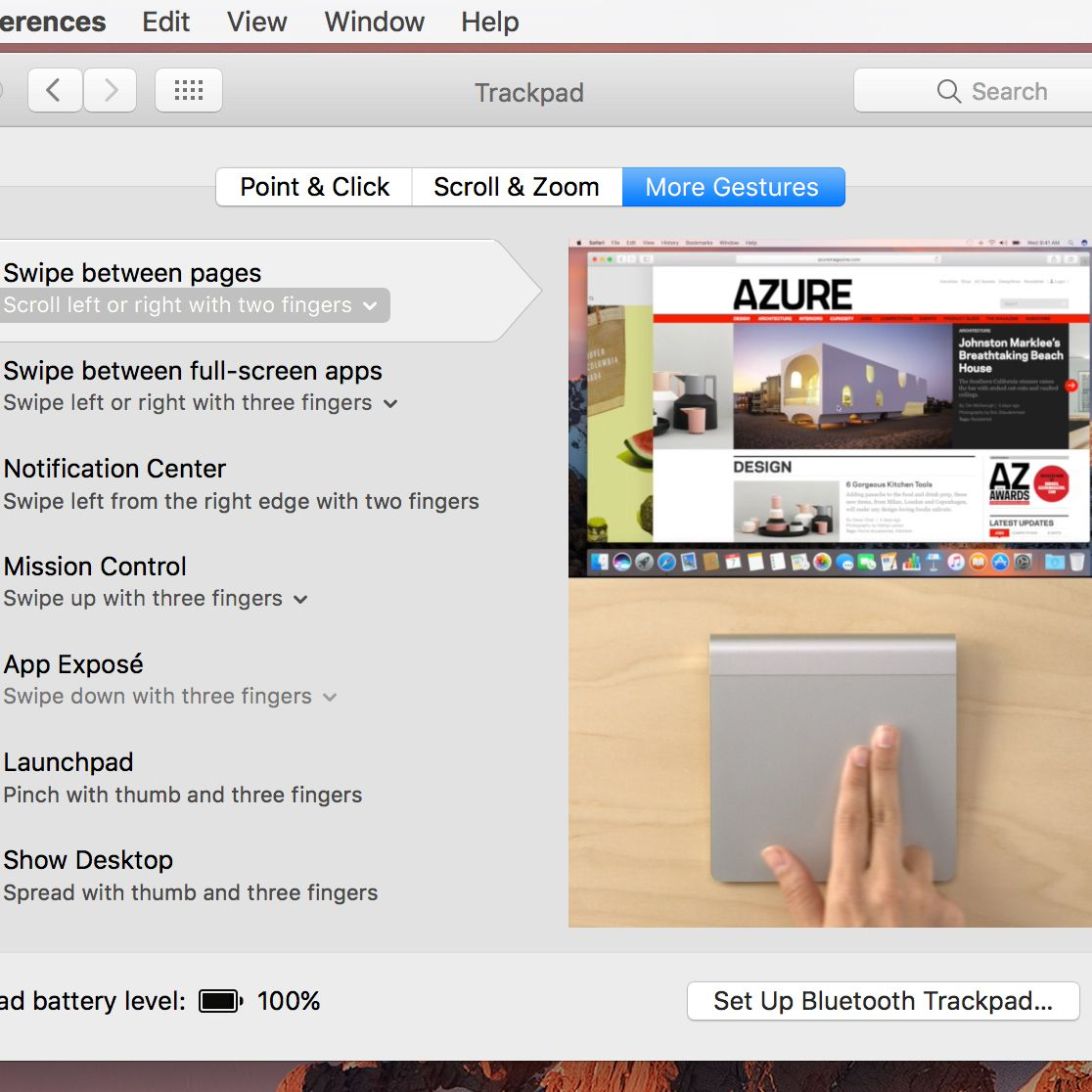 Configure Your Mac's Trackpad to Meet Your Needs