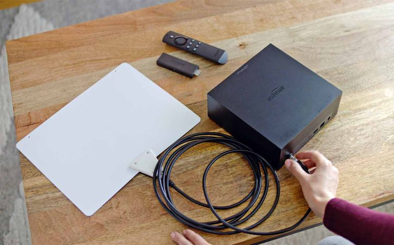 Amazon Fire TV Recast with Antenna and Fire TV Stick