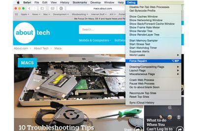 Enabling Disk Utility's Debug Menu
