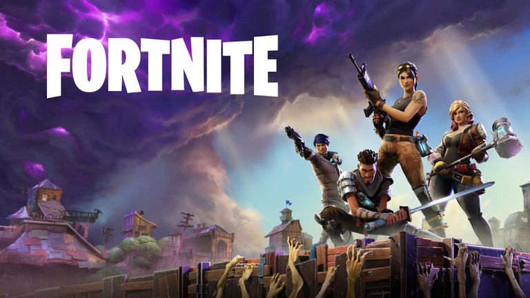 fortnite key art