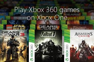 Xbox 360 games for Xbox One Gears of War Star Wars Assassins Creed