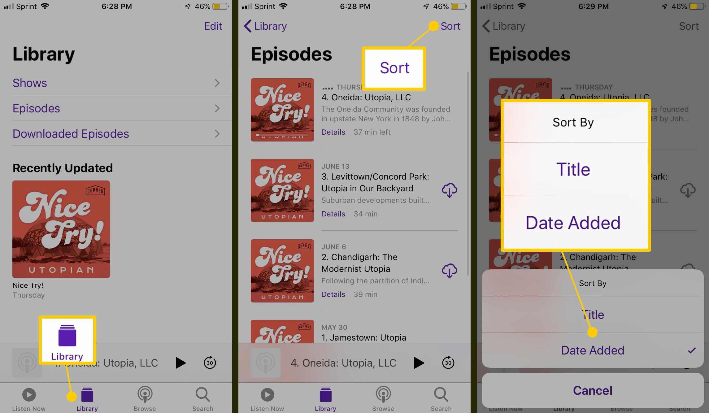 How to Download and Subscribe to Podcasts