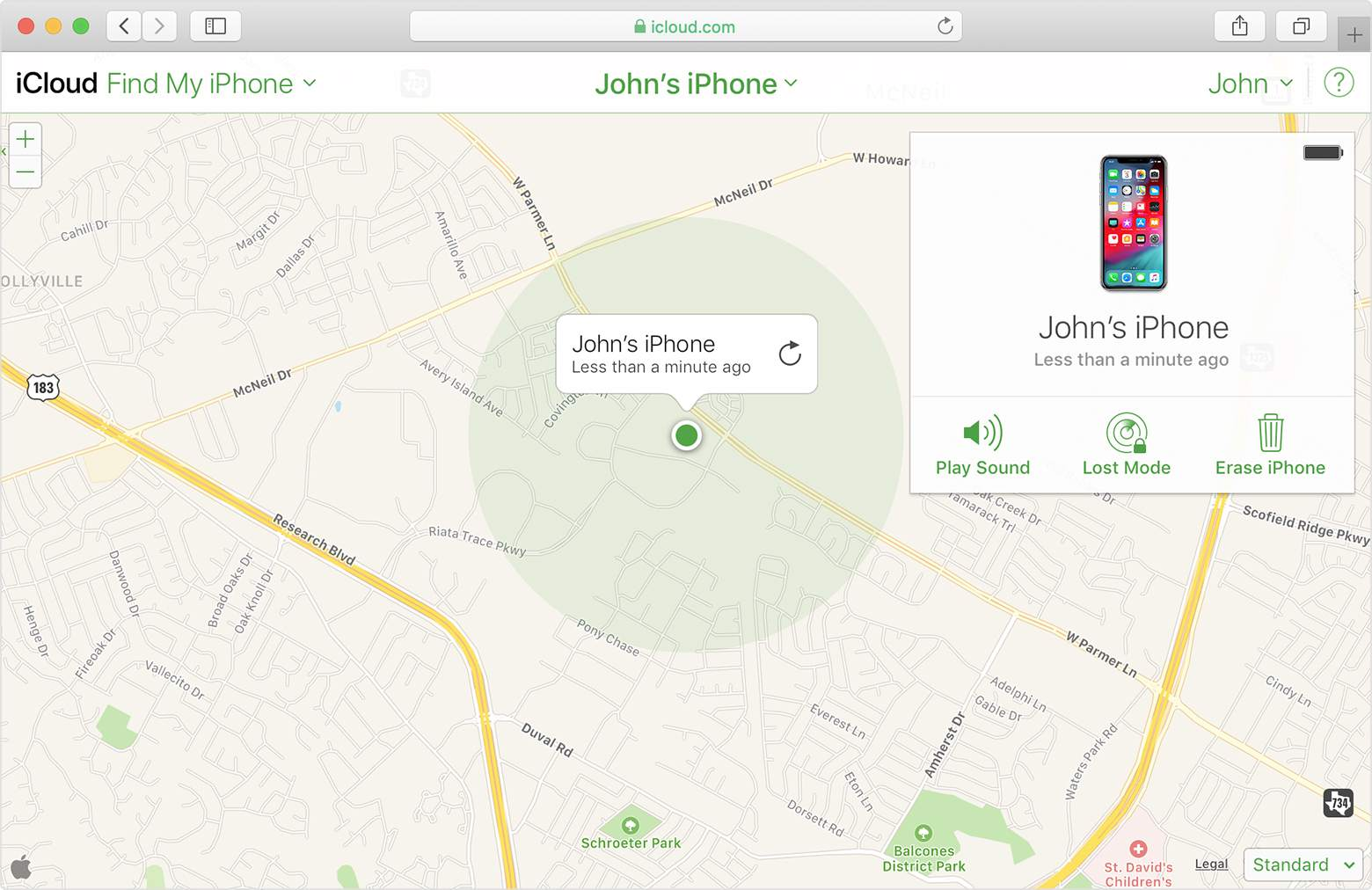 Find My Iphone Maps Not Available