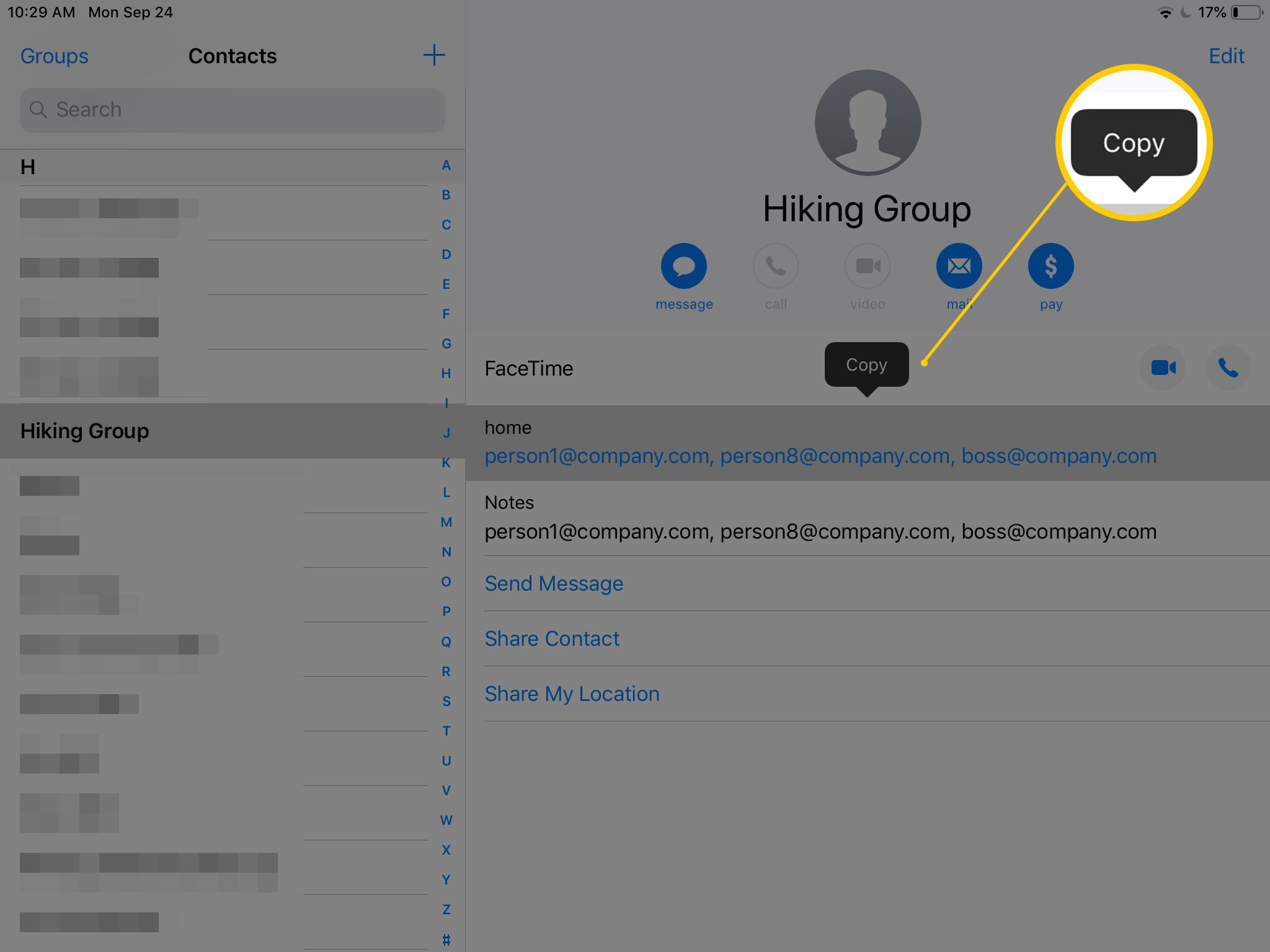 How to Send Group Emails on Your iPhone or iPad