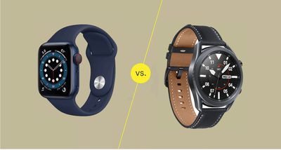 Series 6 vs. Galaxy Watch3