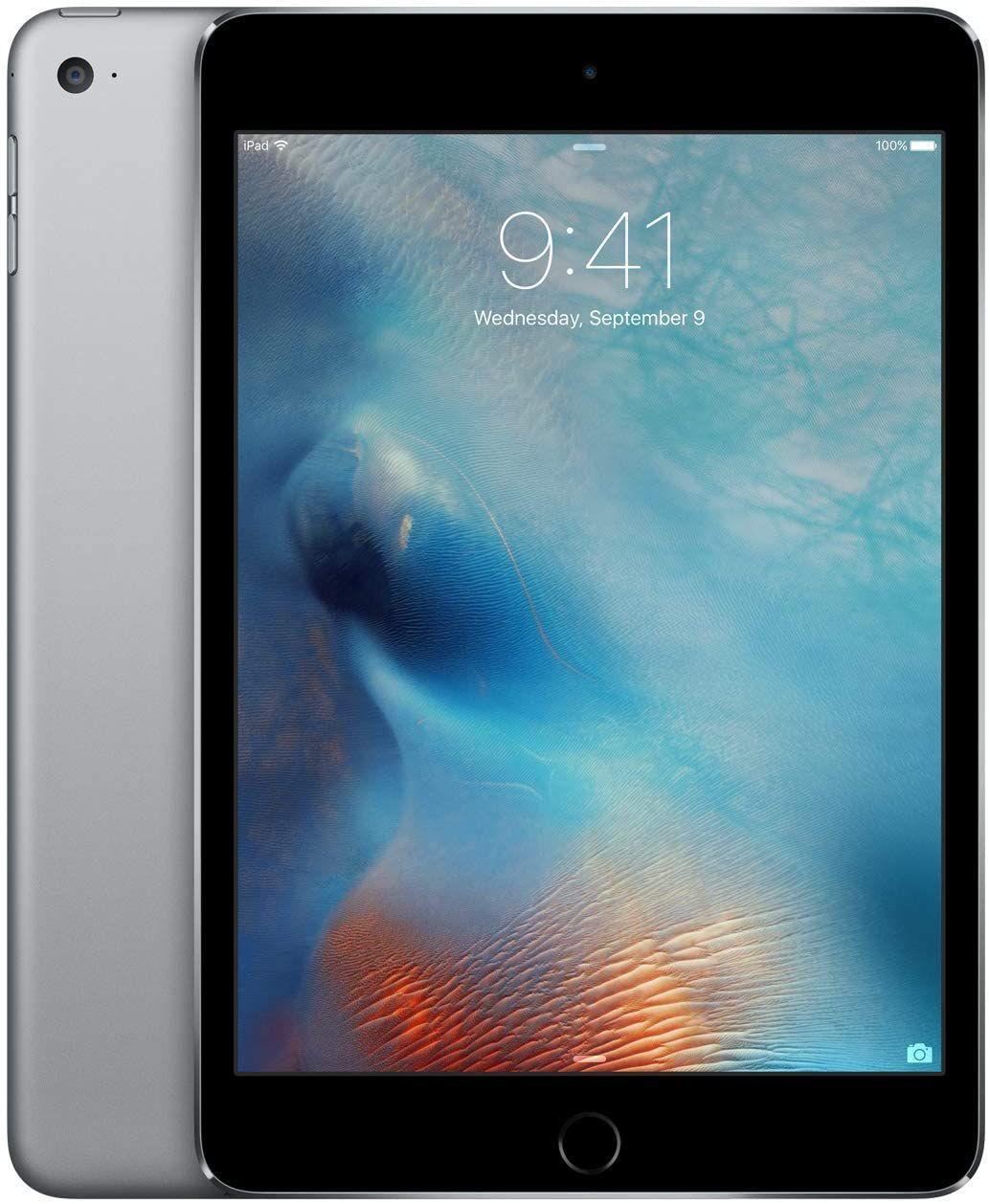 Apple iPad Mini 4 (Wi-Fi, 128GB) - Space Gray (Previous Model)
