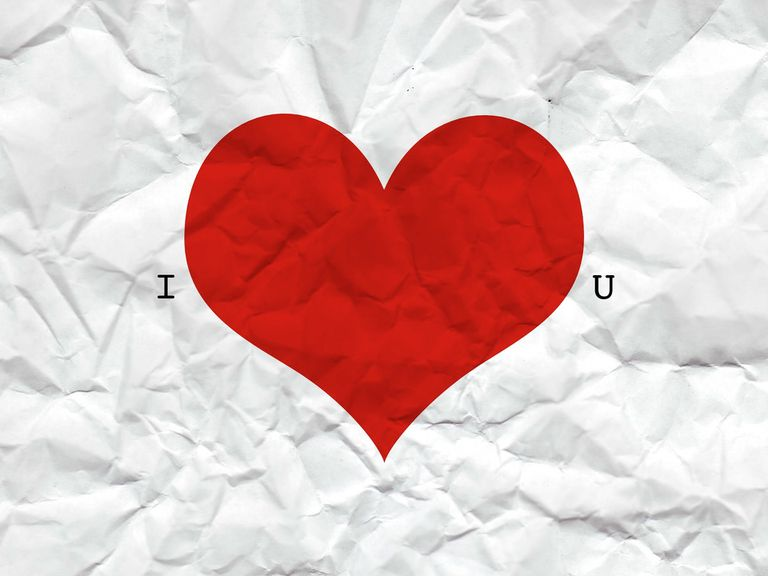 A Crumpled Piece Of Paper That Says I Love You Wallpaper Stock This Beautiful HD Valentine
