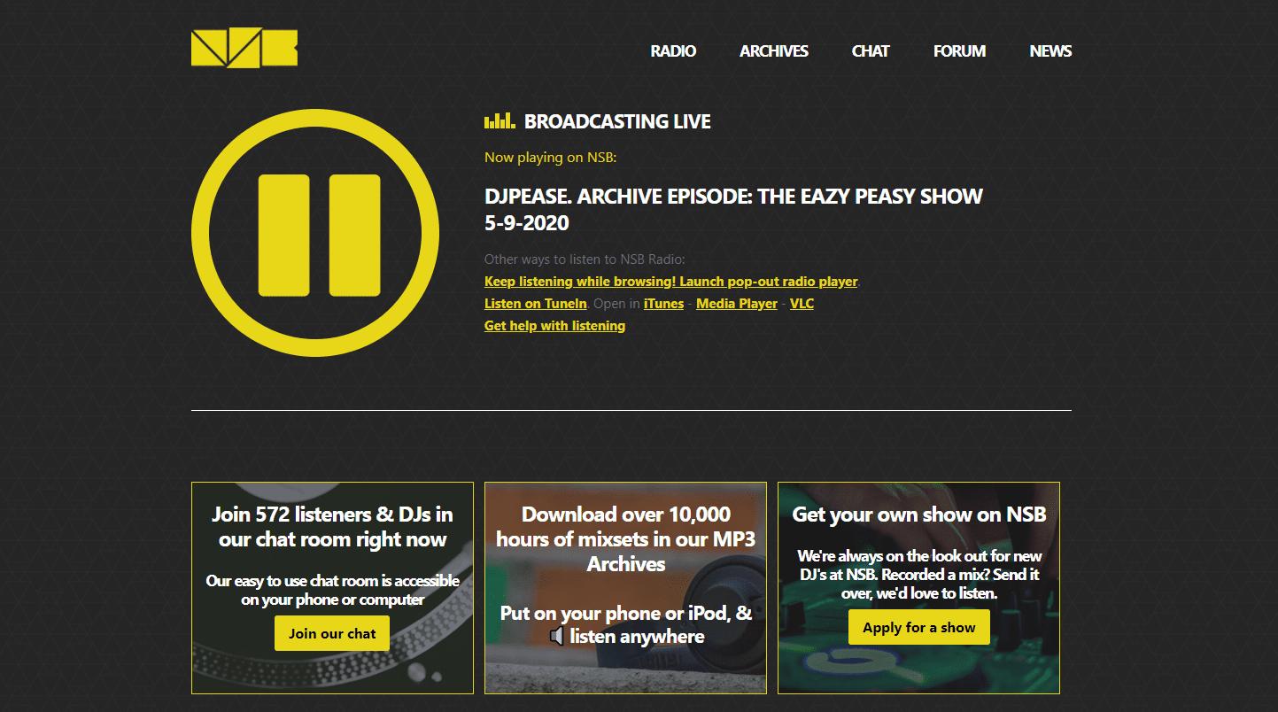 NBS Radio online radio station