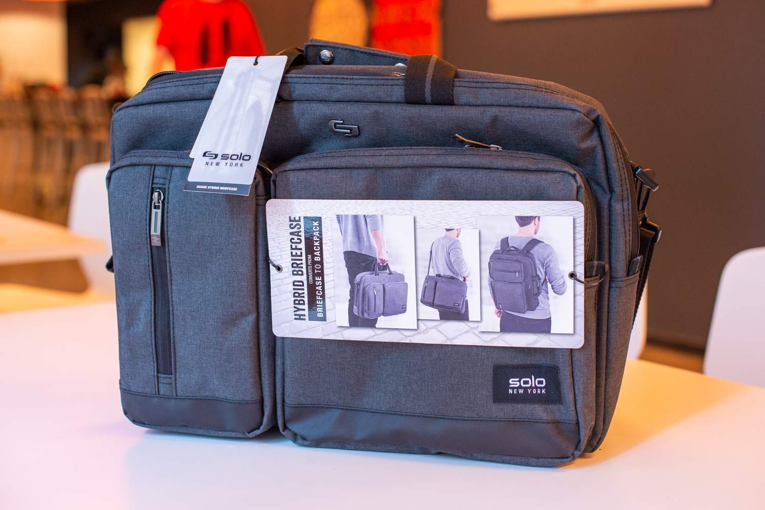 Versatility was a big draw for our testers with this lightweight laptop bag  — specifically a4cc6bff99c89