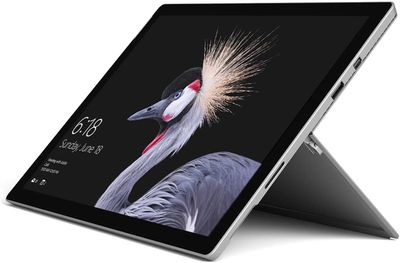 A press photo of the Microsoft Surface Pro