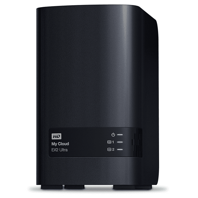 Picture of a WD 4TB My Cloud EX2 Ultra NAS WDBVBZ0040JCH-NESN