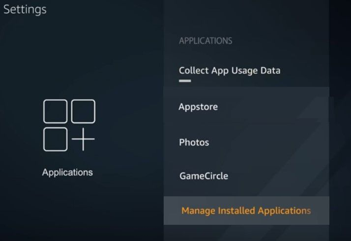 Manage Installed Apps on Amazon Fire TV stick