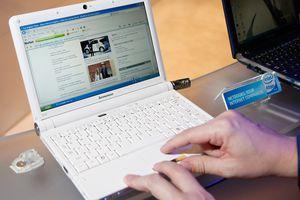 Lenovo IdeaPad netbook from 2009