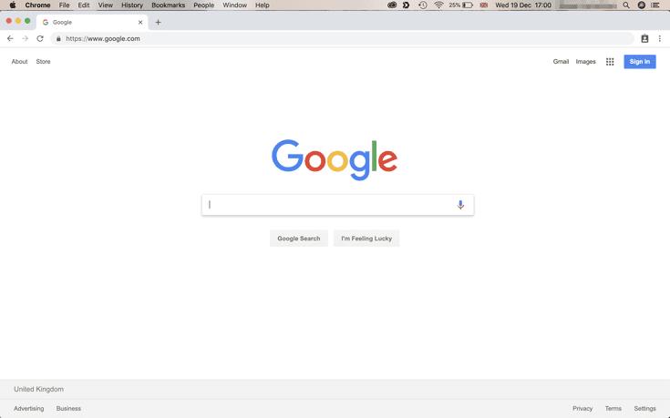 Chrome History File