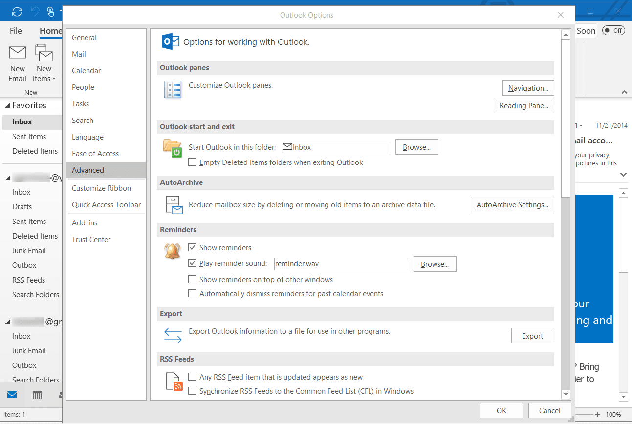 Archive Old Mail Automatically With Outlook AutoArchive