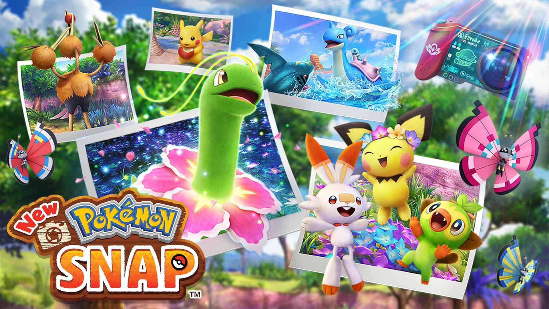 Hero art from 'New Pokemon Snap'