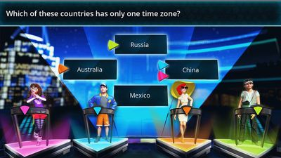 Trivia Pursuit Live! screen one for XONE