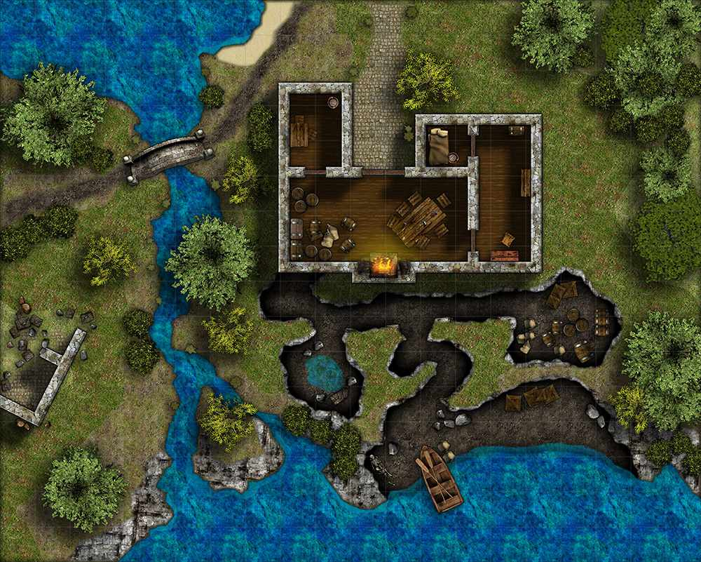 A building in Campaign Cartographer