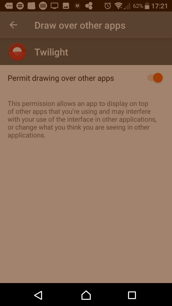 AHow screen overlay appears on Android.