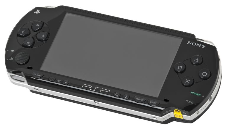 The original Playstation Portable.