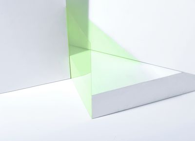Abstract green transparency