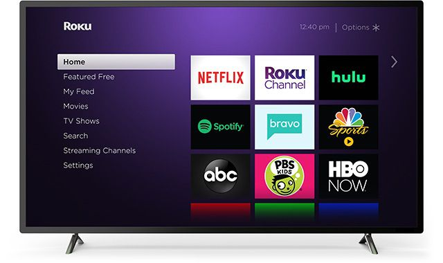 Roku with Netflix on non-smart TV