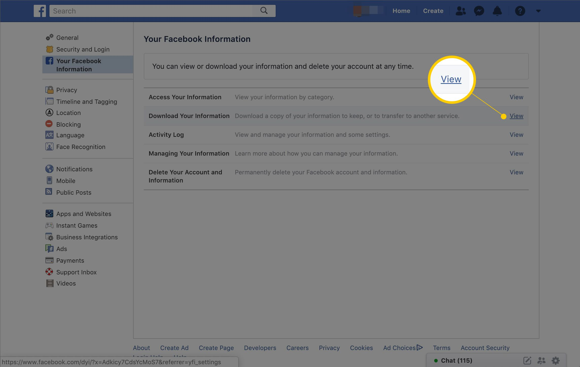 How to Back Up All Your Facebook Data -- Download Your FB