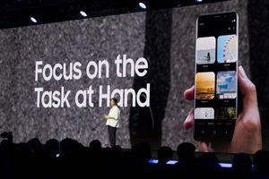 Scene from Samsung Developer Conference Keynote