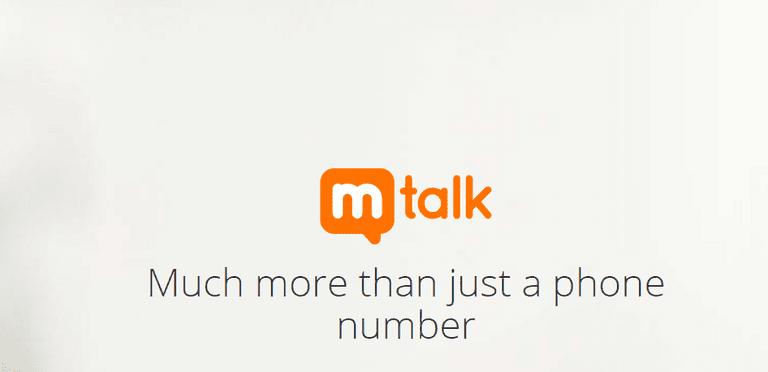 Mtalk Logo