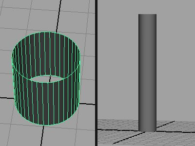 Blocking out the Column
