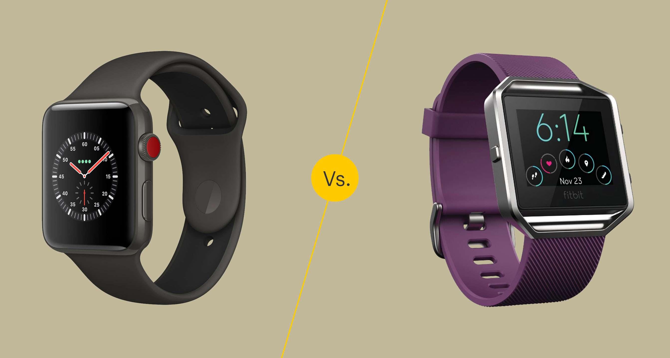 Apple Watch vs Fitbit Blaze