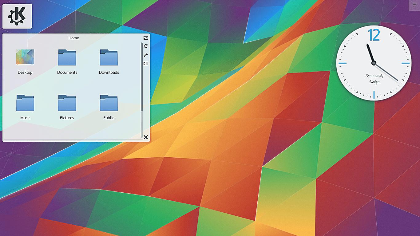KDE Plasma widgets