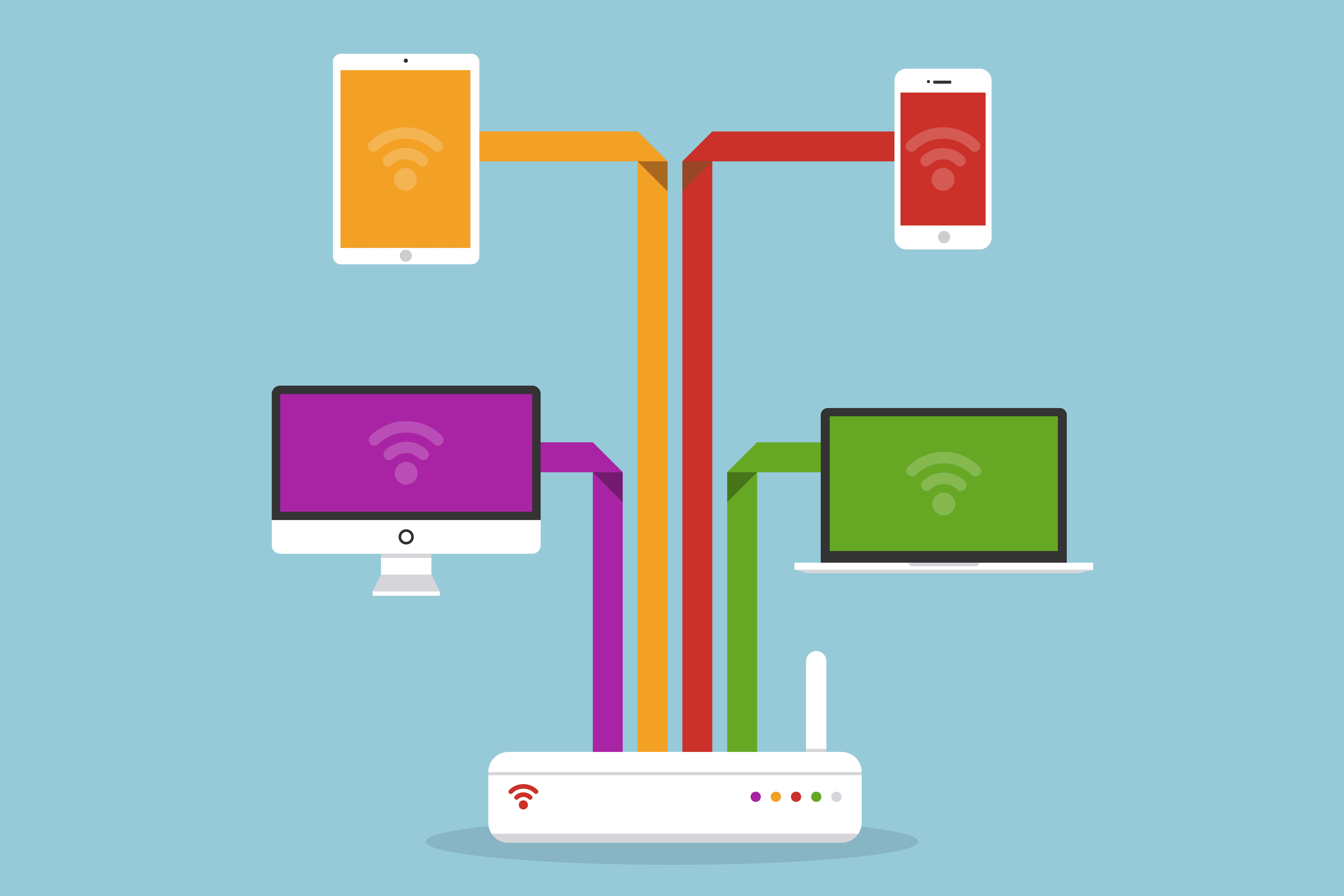 How to Set Up Networks for Digital Devices