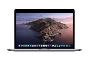 macOS Catalina (10.15) running on a MacBook Pro