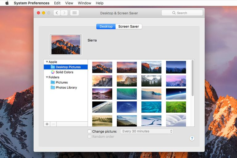 Personalize The Mac S Desktop Wallpaper With Your Own Pictures