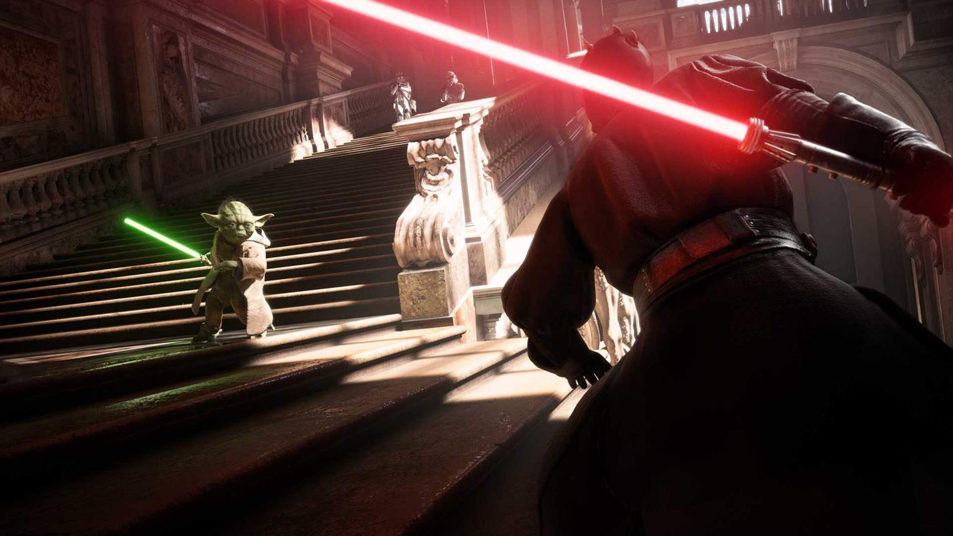 Star Wars Battlefront II online video game on Xbox One and PS4.
