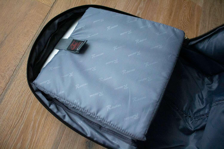 Racini Nylon Waterproof Rolling Backpack